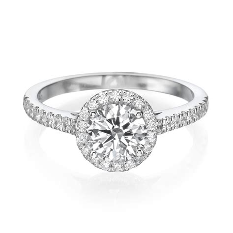 2 1 2 carat h si1 halo engagement ring cut