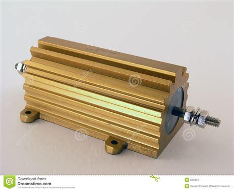 electrical power resistor electric power resistor stock image image 633451
