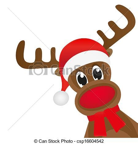 imagenes de navidad venados eps vector de bufanda venado rojo wavin navidad