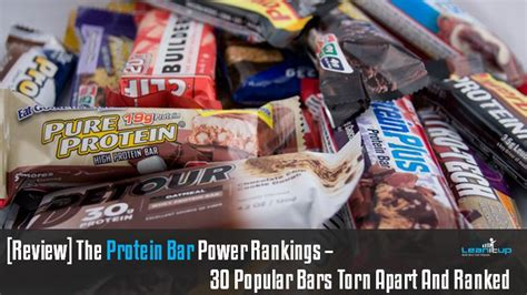 top protein bars building muscle 17 best images about nutritional analysis on pinterest