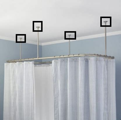 ceiling rails for curtains shower curtain rail ceiling fix curtain menzilperde net