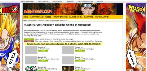 boruto narutoget how to watch free naruto boruto episodes online at narutoget