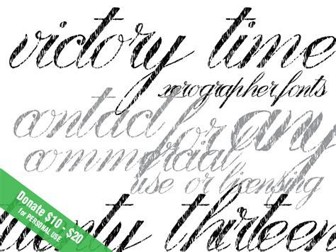 xerographer dafont victory time font dafont com