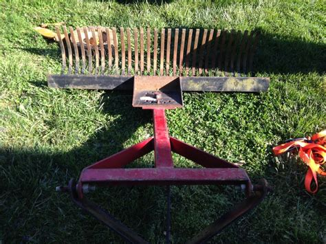 Landscape Rake Auction Herd Spreader F160 Landscape Rake Yesterday S Tractors