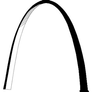 gateway arch st louis clip art pictures to pin on pinterest