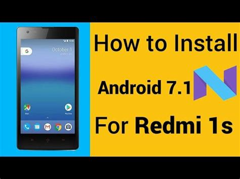 install themes on redmi 1s how to install android 7 0 nougat on xiaomi redmi 1s