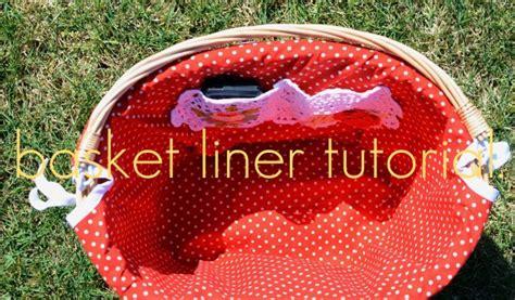 pattern for fabric easter basket liner ruffled sunshine pimp my bike basket liner tutorial