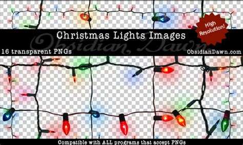 christmas lights transparent pngs photoshopsupport com