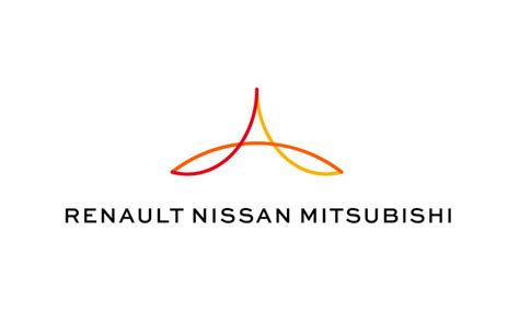 renault nissan logo renault nissan mitsubishi alliance unveils logo