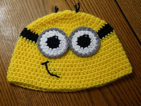 pattern crochet minion hat top minion hat pattern the wallpapers