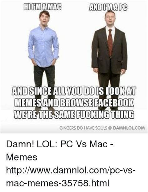 25 best memes about pc vs mac pc vs mac memes