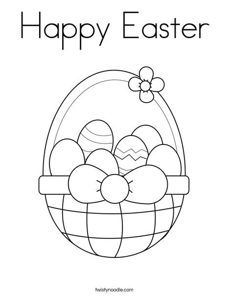 easter coloring pages for pre k happy easter coloring page twisty noodle