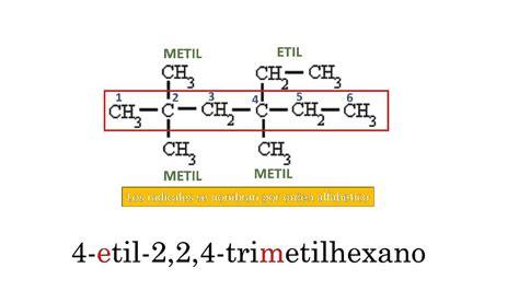 cadenas lineales alcanos 191 c 243 mo nombrar alcanos de cadena ramificada youtube