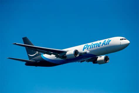 amazon prime air amazon s first prime air jet takes seafair spotlight