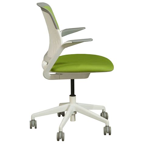 steelcase cobi chair dimensions steelcase cobi used mesh back conference chair green