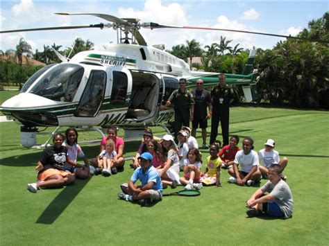 Pbso Search Eagle I Pbso Helicopter Lands At Ballenisles To Open Summer Tennis Program