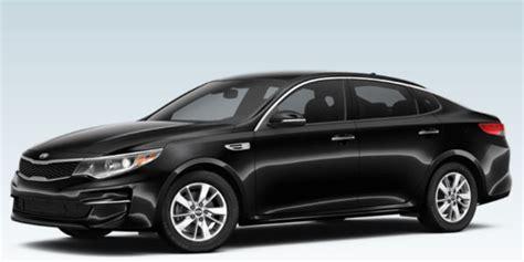 Kia Optima Trim Levels 2016 Kia Optima Color And Customization Options
