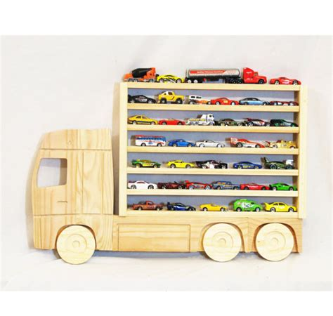 Car Display Shelf by Wooden Truck Hanging Storage Display Shelf For By