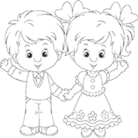boy waving coloring page friends 187 coloring pages 187 surfnetkids