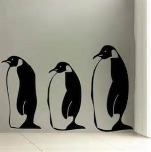Penguin Wall Stickers Pics Photos Penguin Wall Decals