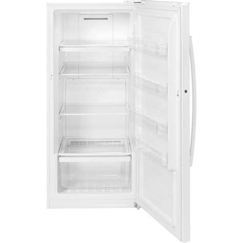 Standing Freezer Sharp fuf14dlrww ge 14 1 cu ft free upright freezer