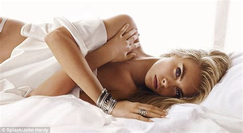 Cara Delevingne  in bed for John Hardy Spring jewellery campaign   Daily Mail Online