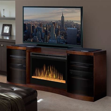 electric fireplace tv stands complete