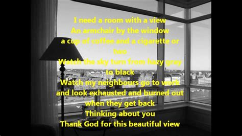 room with a view song tina dico room with a view lyrics on screen