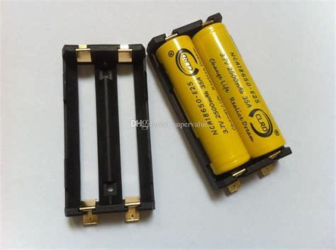 2x Aa Battery Holder Baterai Batere Box Kotak Batr Diskon oem dual 18650 battery holder 3 7v 18650 battery pack
