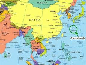 Map of asia labeled