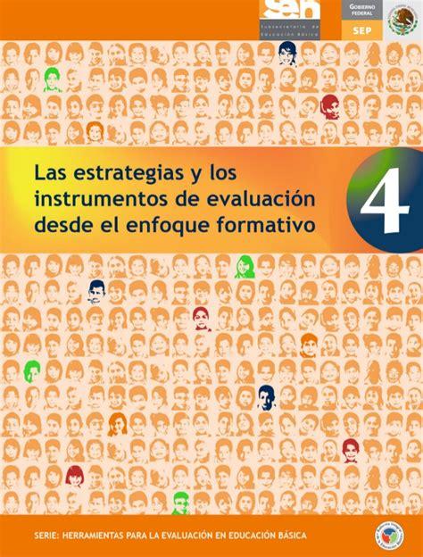 libro 4 estrategias de evaluaci 243 n