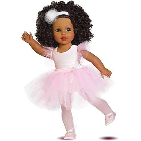 black doll pic my as ballerina dressed 18 quot doll american