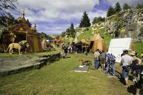 narnia film new zealand filming at elephant rocks perceptions of the landscape