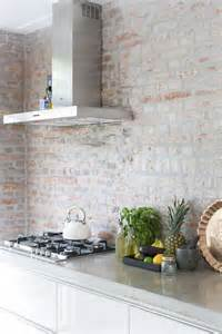 Red Brick Backsplash 30 Trendy Brick Accent Wall Ideas For Every Room Digsdigs