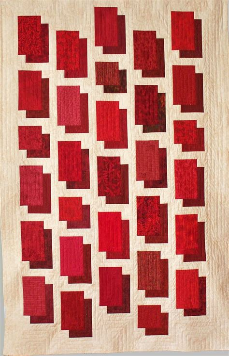 Simple Modern Quilt by Quilt Inspiration Simple Modern Shapes Esch House Quilts