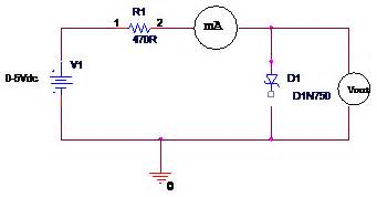 diode forward bias circuit diagram tech lab experiment 3 v i characteristics of semiconductor diode ge and si
