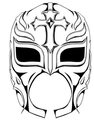 great rey mysterio mask template wrestle up a good book