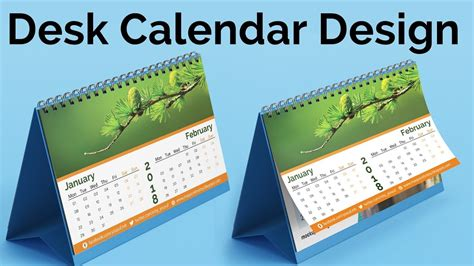 how to make a desk calendar in photoshop calendar design 2018 how to create a desk calendar in