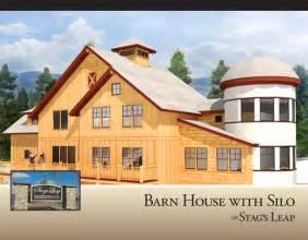 House Barn Combo Floor Plans Stag S Leap Renderings