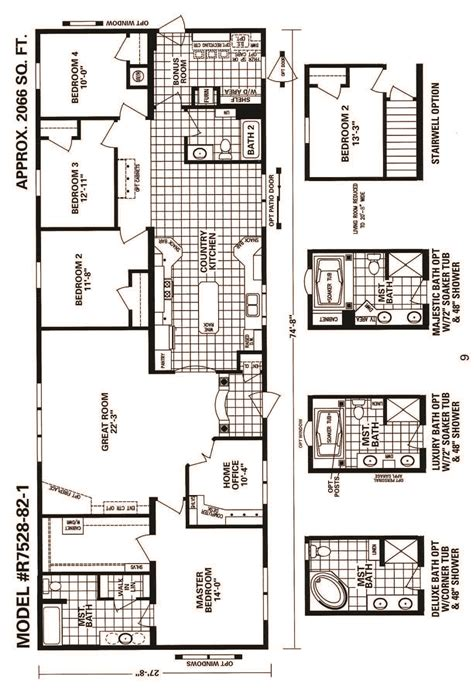 schult floor plans schult timberland 7528 82 1 modular manufactured home
