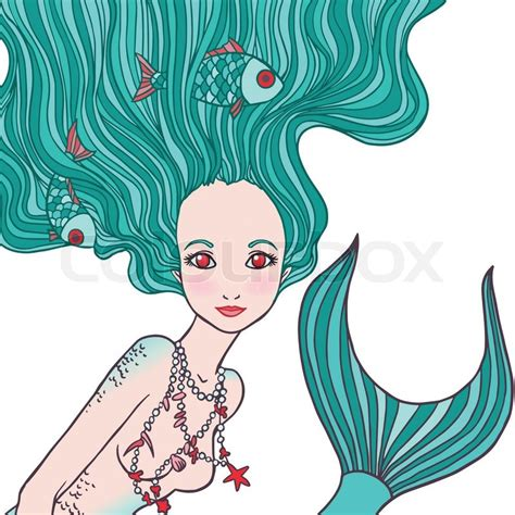 American Home Design Jobs illustration of pisces astrological sign as a beautiful