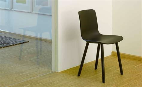 hal wood side chair hivemoderncom