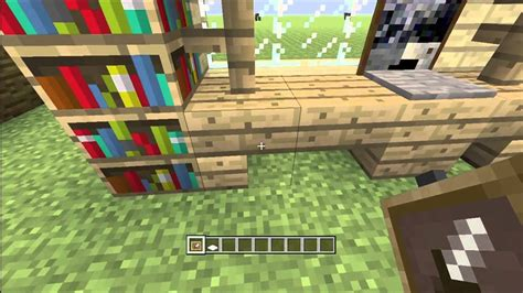 How Do You Make A Desk In Minecraft by Minecraft How To Build An Office Desk