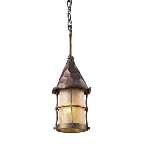 Titan Lighting Rustica 1 Light Antique Copper Outdoor Outdoor Copper Lighting