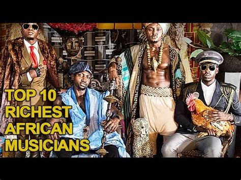 top 10 richest musicians in africa