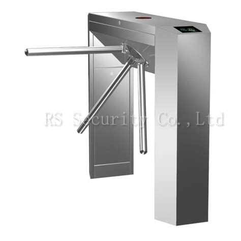 Tripod Gate mechanical ir sensor waist height tripod turnstile access automatic gate