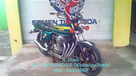 Moge Sanex 250cc Th 2000 moge honda langka satusatunya cb 750 th 1975 type