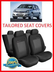 Seat Covers For Vauxhall Astra Tailored Seat Covers For Vauxhall Astra H 2004 2009