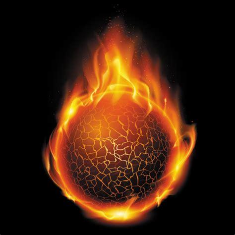 shapes   fire elements vector  vector