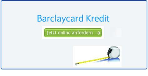 Kredit Der Barclays Bank Sowie Kreditangebote Mit